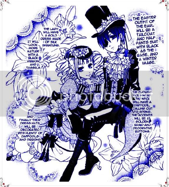 Kuroshitsuji,Ciel Phantomhive,manga,Lizzie