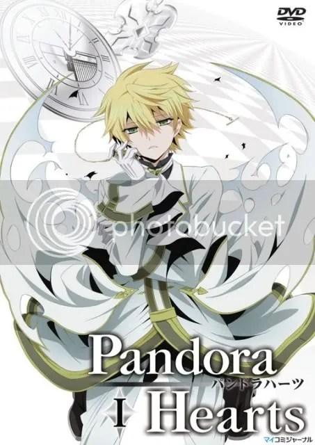 Pandora Hearts Anime DVD,Pandora Hearts