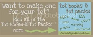 Tot Books & Packs
