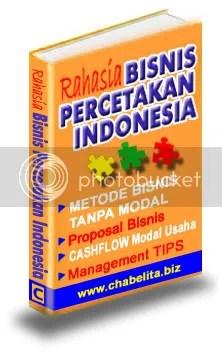 Ebook Rahasia Bisnis Percetakan INDONESIA