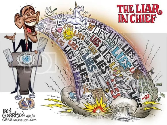 Image result for LIAR IN CHIEF OBAMA POLITICAL CARTOON