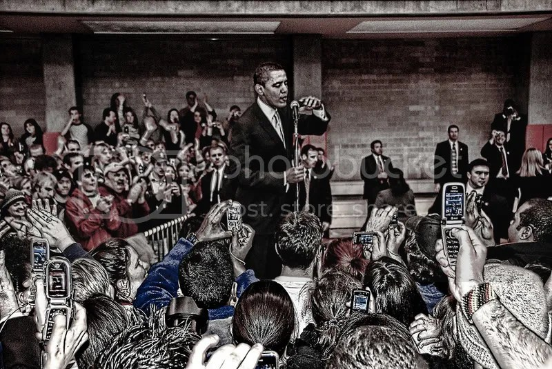 """Obama and the Citizen Press by \""""iceman9294\"""""""