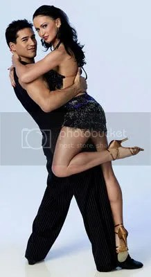 Mario Lopez and Karina Smirnoff...lucky woman...