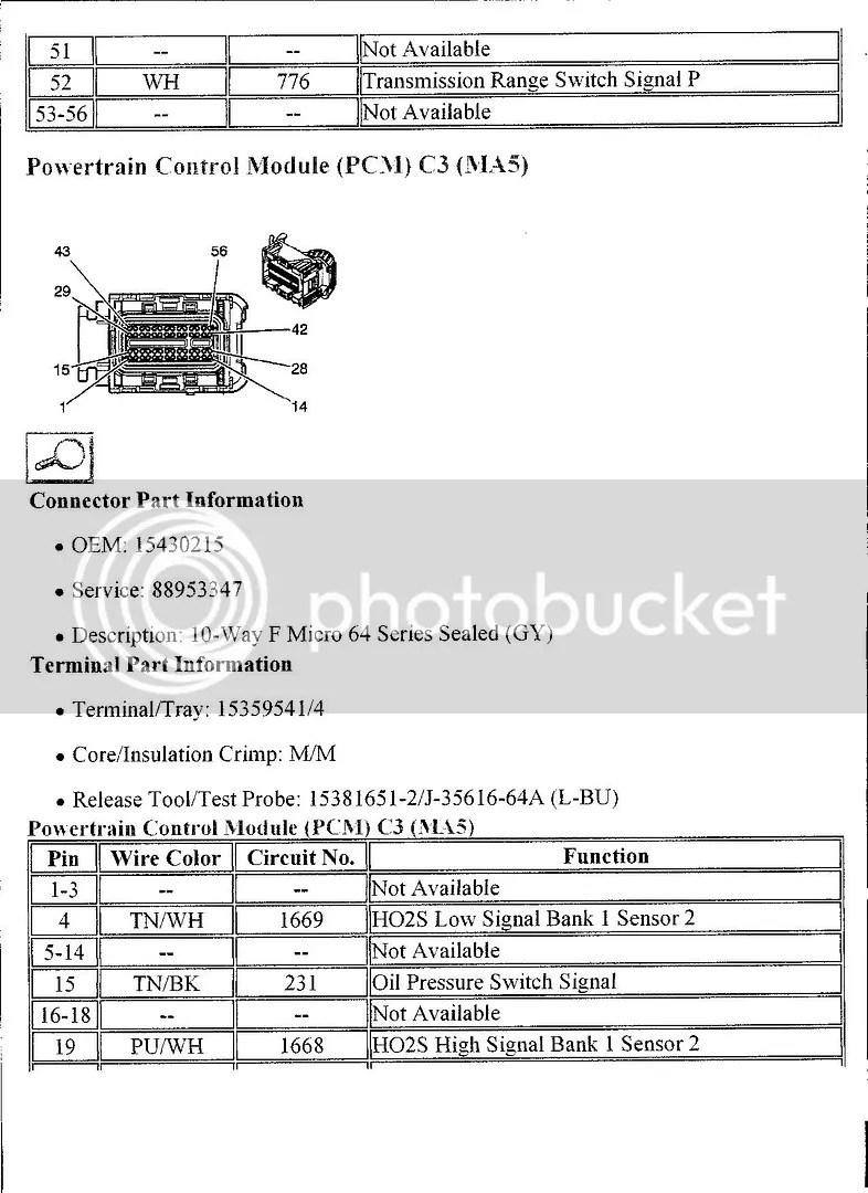 06 Hummer H3 Pcm Wiring