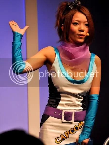 The cute Capcom girl