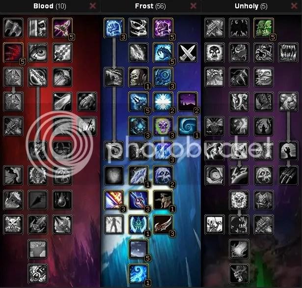 Frost Death Knight Tanking Spec, Level 80