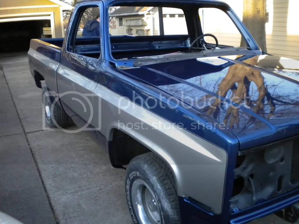 2 Tone Paint 67 72 Chevy Truck