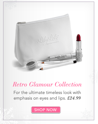 Retro Glamour CollectionFor the ultimate timeless look with emphasis on eyes and lips. £24.99