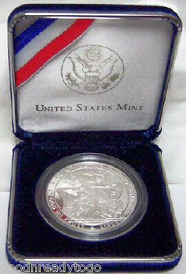 Us Mint Boy Scouts Centennial 2010 Proof Silver Coin Ebay