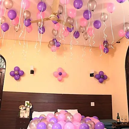 Balloons Decorations For Birthday Party Anniversary At Home Ferns N Petals
