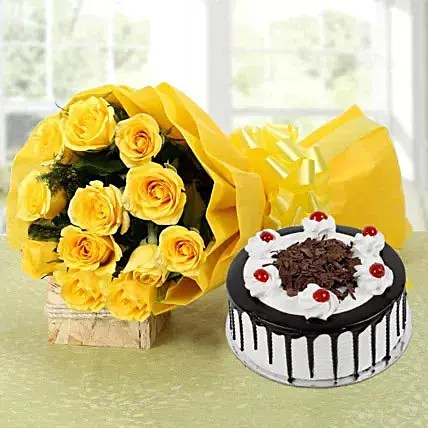 Order Send Flowers And Cakes For Birthday Online From Ferns N Petals