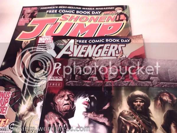 Free comics!