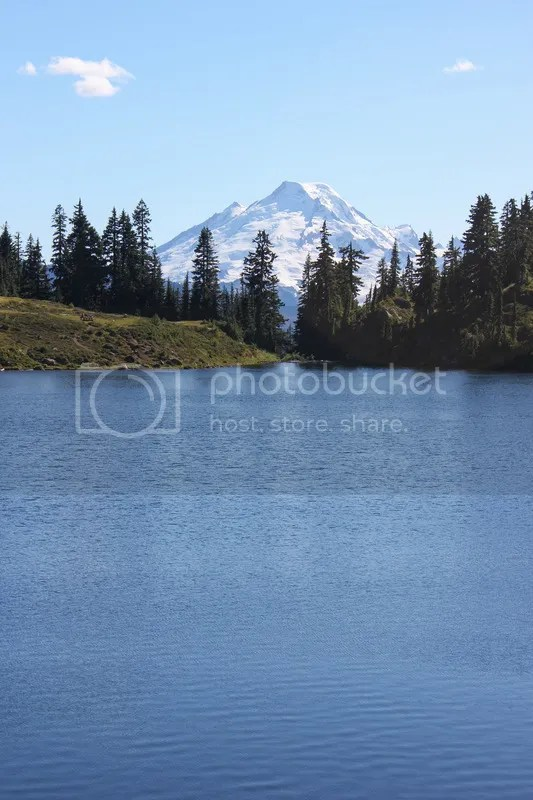 Mt Baker and Twin Lakes