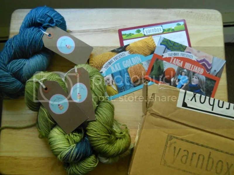 sept 2014 yarnbox
