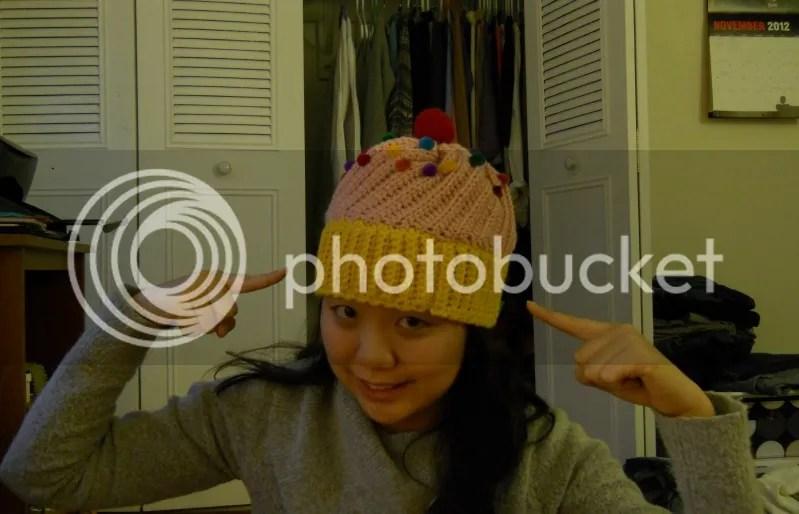 cupcke hat