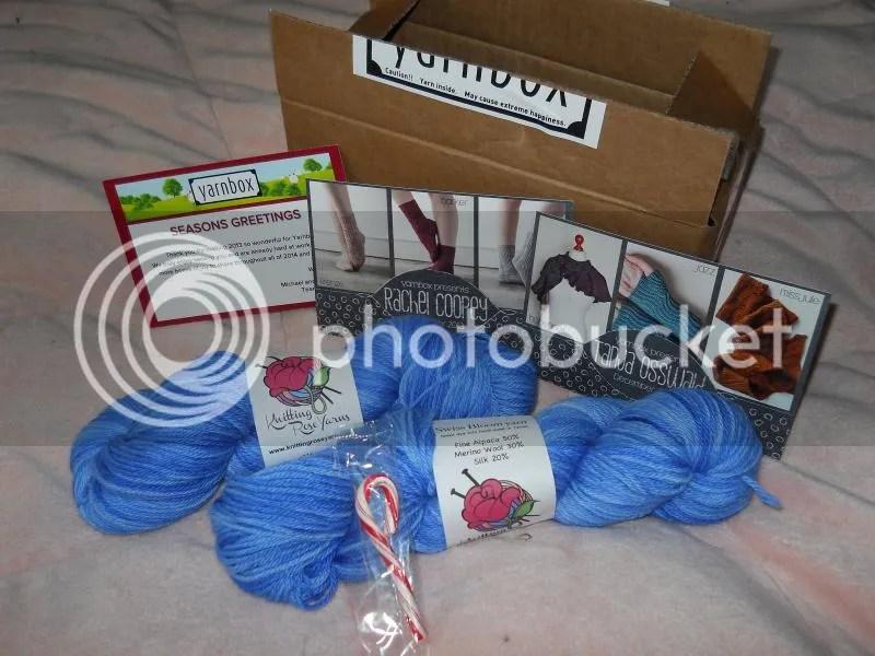 december 2013 yarnbox