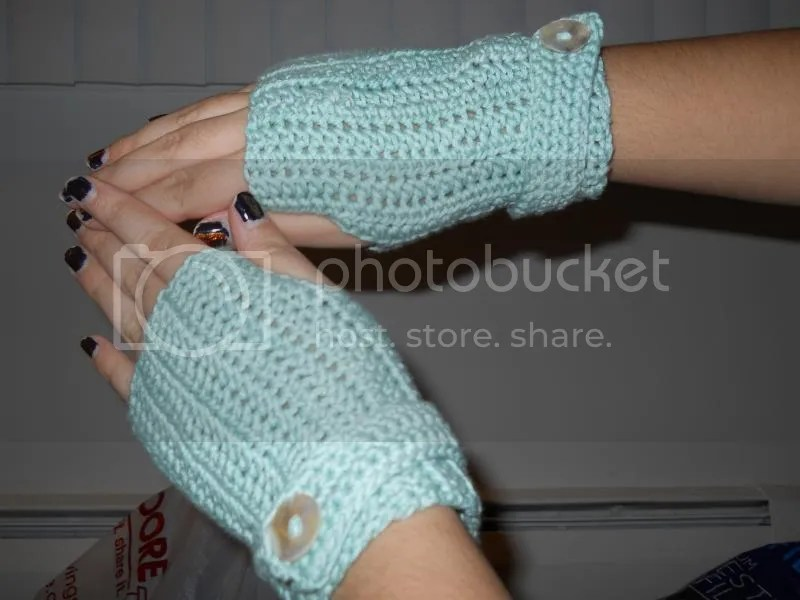 fingerless mitts jam tarts