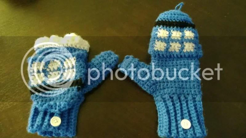 tardis gloves