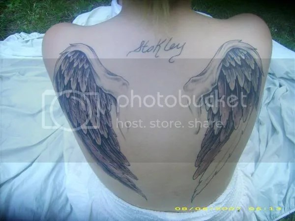 I'm quite opposed to big chest tattoos. Here: Something like that.
