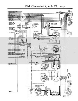 64 chevy II steering column wiring diagram  Chevy Nova Forum