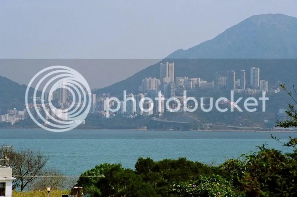 Hong Kong as seen from my garden