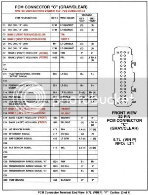 96 PCM Pin Diagram  Chevy Impala SS Forum