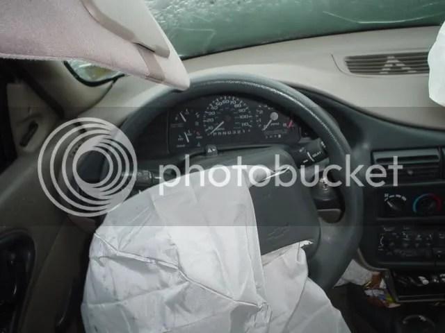 driver's interior view