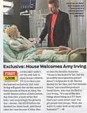 Úgy tűnik, nem Cuddy az egyetlen hölgy, aki felkelti House érdeklődését. A TV Guide Magazine tudomást szerzett arról, hogy Amy Irving vendégszerepelni fog a 'House' új évadának harmadik epizódjában mint Alice a világhírű író, aki megalkotta 'Jack Cannon, az ifjú detektív' történetét - egy gyerekeknek szóló könyvsorozatot -, amit a morcos doki meglepő módon imád. Alice megbetegszik, mielőtt befejezné az utolsó könyvét és House azért vállalja el az esetét, mert ha meghal, akkor a [House] kedvenc karaktere is vele hal. 'House-t lenyűgözi a nő, de a nem együttműködő páciensnek köszönhetően nem haladnak könnyen előre a dolgok. Megveti a rajongóit, így House-t is' - mondja David Shore, vezető producer, aki nagyon örült, hogy Irvinggel dolgozhat. 'Ez a jó abban, hogy tévésorozaton dolgozom: csomóan szeretnének játszani benne.'  Alice-nek olyan sikere van, mint J. K. Rowlingnak, de 'remete életet él és boldogtalan' - mondja Shore.