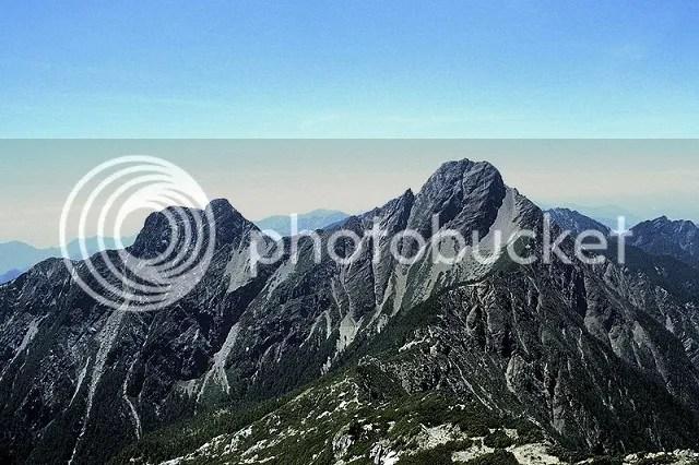 Mount Yushan is the highest peak on Yushan National Park