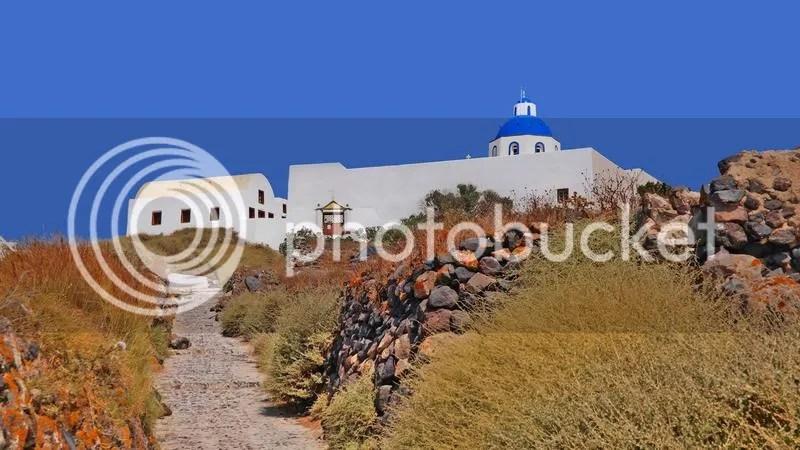 Agios Nikolaos, Firostefani, Santorini, Greece