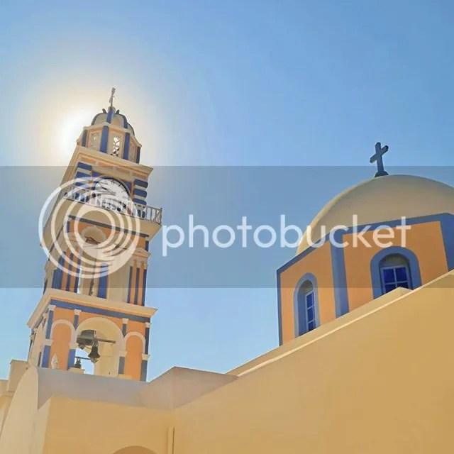 Catholic Church, Fira, Santorini, Greece