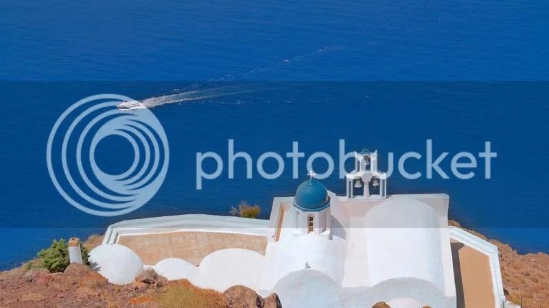 Panagia Theoskepasti, Imerovigli, Santorini, Greece