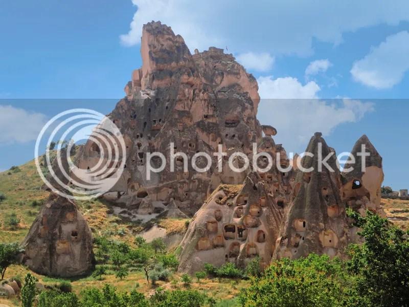 Unchisar Castle, Cappadocia, Turkey