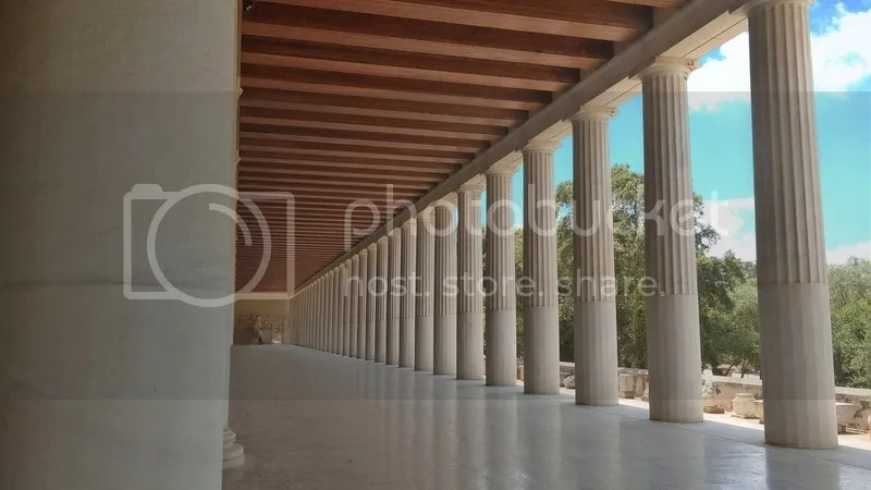 Stoa of Attalos, Ancient Agora, Athens, Greece