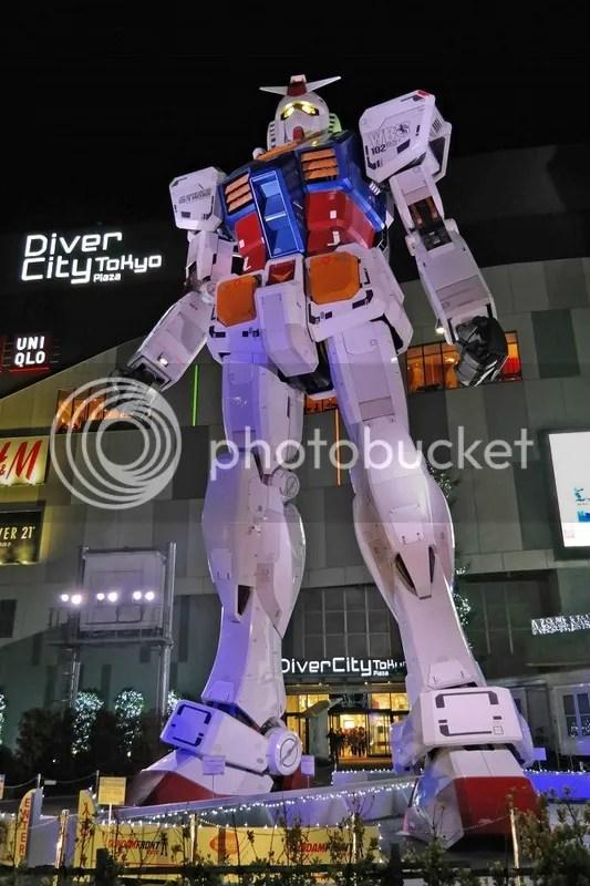 Gundam, Diver City, Odaiba, Tokyo, Japan