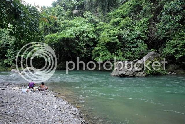 Buluh River, Tangkahan, Gunung Leuser National Park, North Sumatra, Indonesia