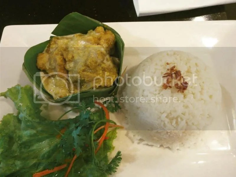 Eating Fish Amok in Cambodia