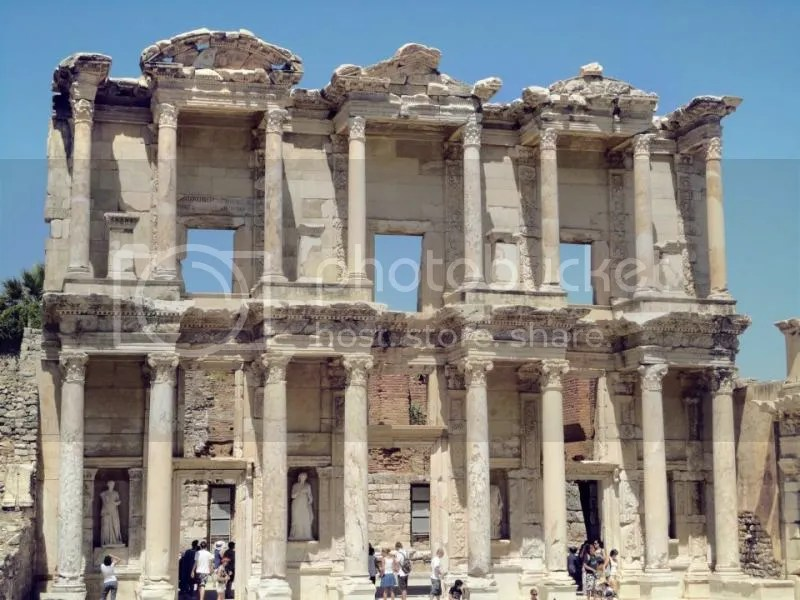 Library of Celsus, Ephesus, Selcuk, Turkey