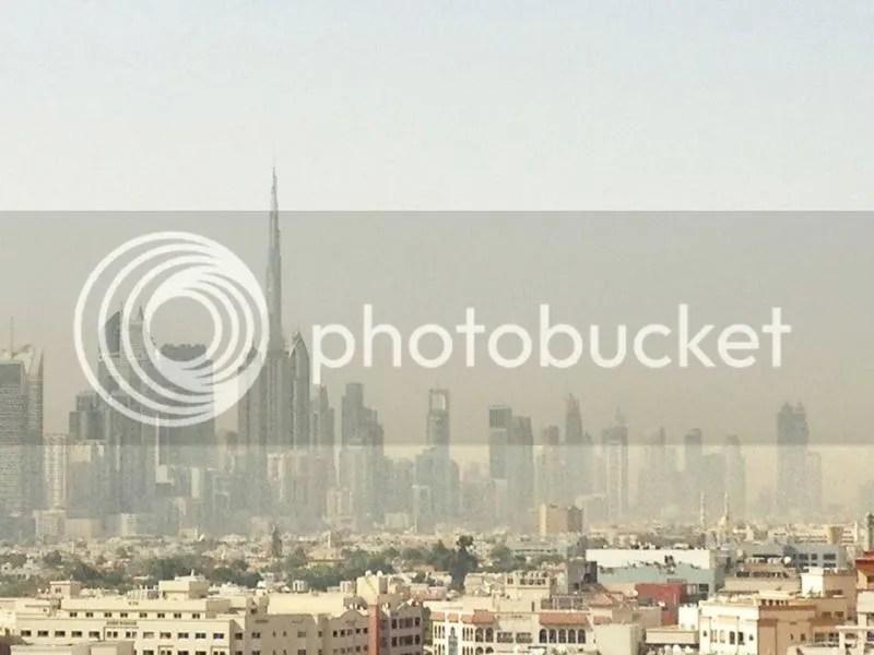 Downtown Dubai Skyline, Dubai, United Arab Emirates