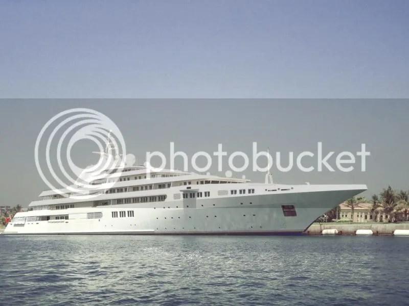 Called 'Dubai', this yacht is owned by Sheikh Mohammed bin Rashid Al Maktoum