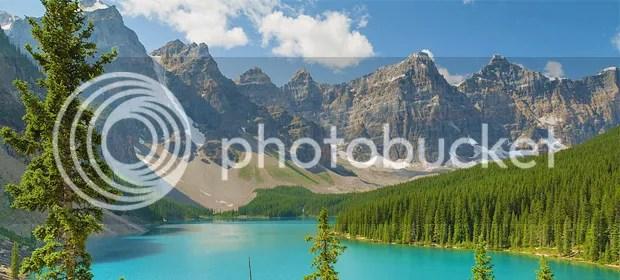 Lake Moraine, Banff National Park, Canada