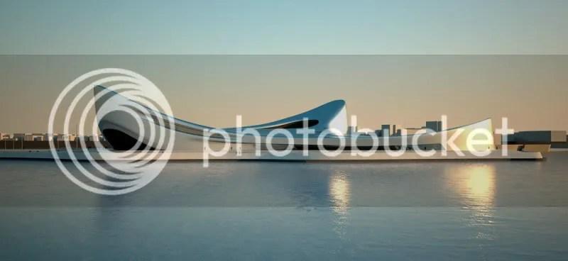 rhegium waterfront, zaha hadid