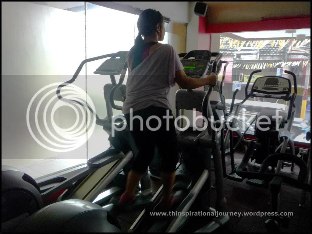 Lara Novales Eclipse 24/7 Fitness Center Philippines