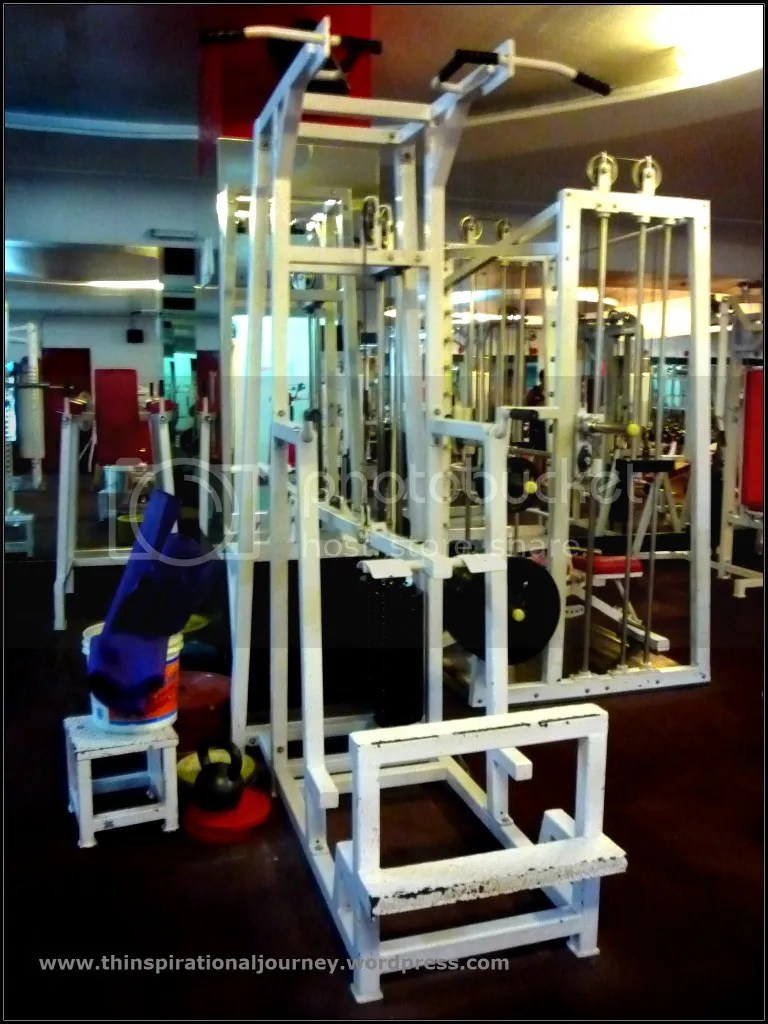 Pull up and dips (assisted) machine