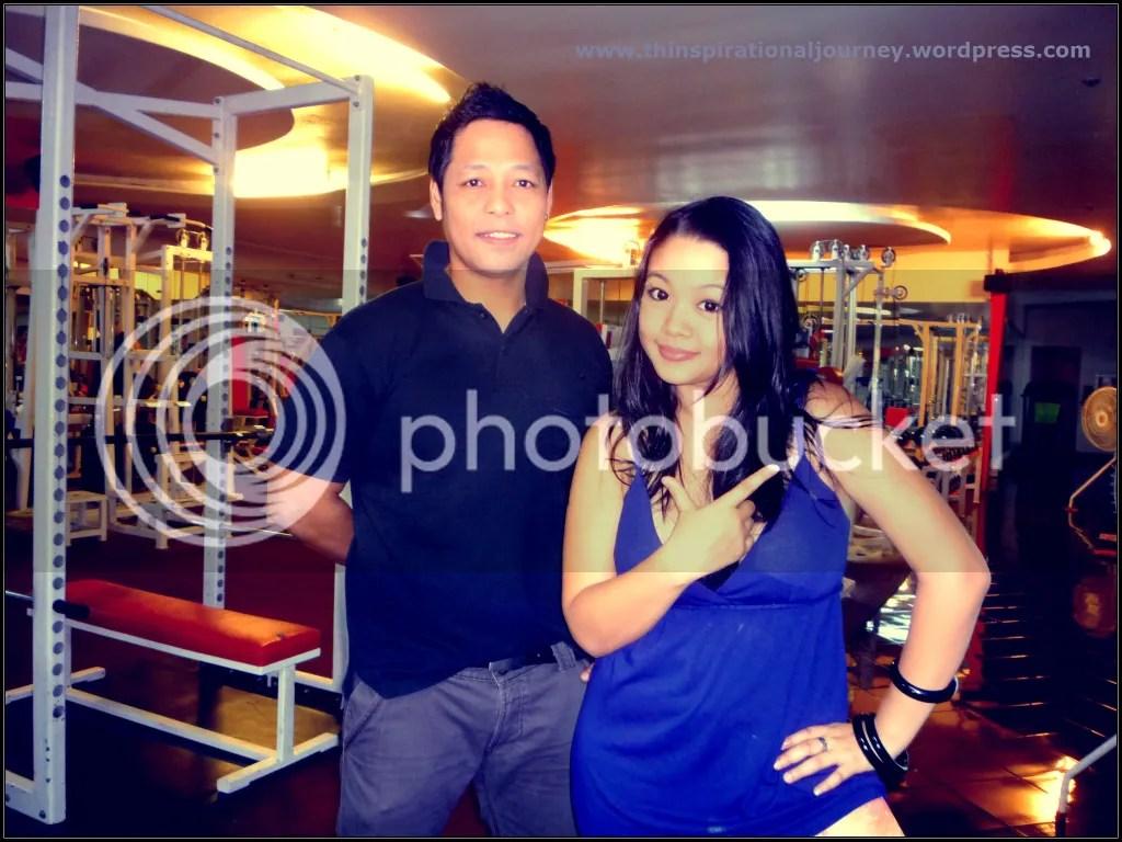 Lara Novales and COach Ricky of Eclipse Gym