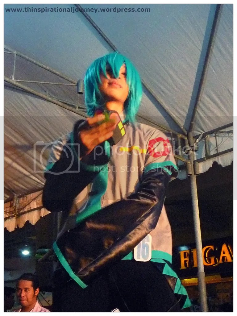 Hatsune Mikuo cosplay Animetic Pergola