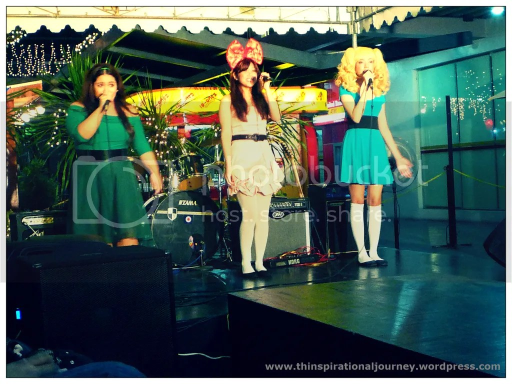 Those Girls Band. Powerpuff Girls. Animetics The Pergola