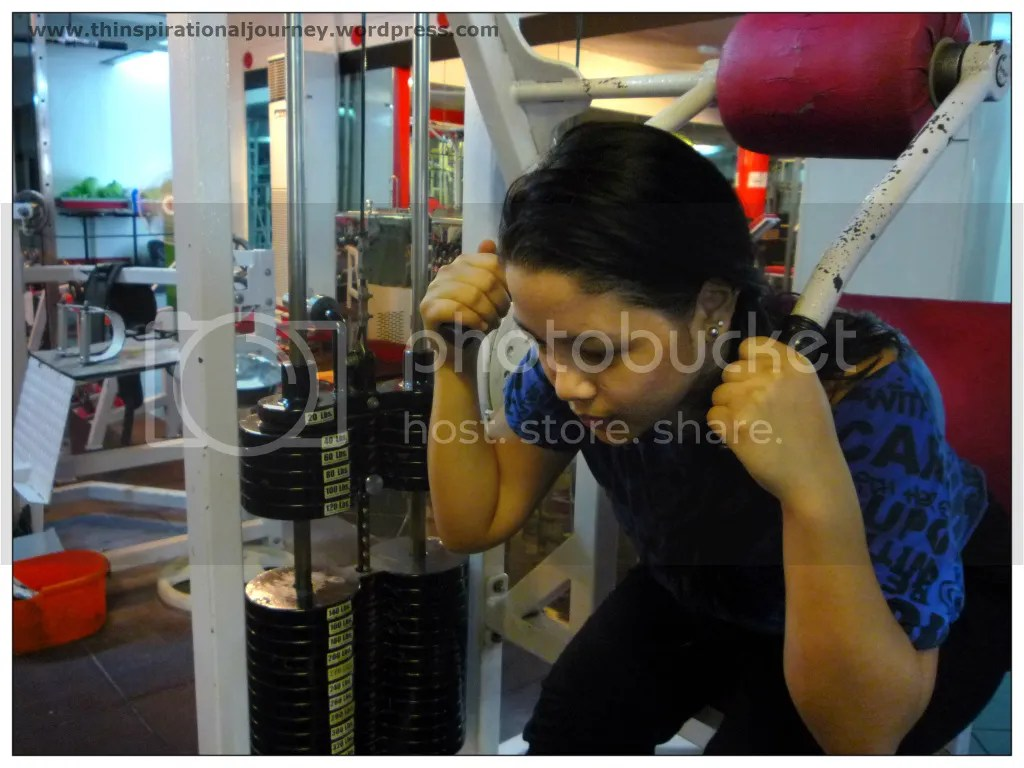 Lara Novales Ab Crunch Machine Eclipse Gym Manila