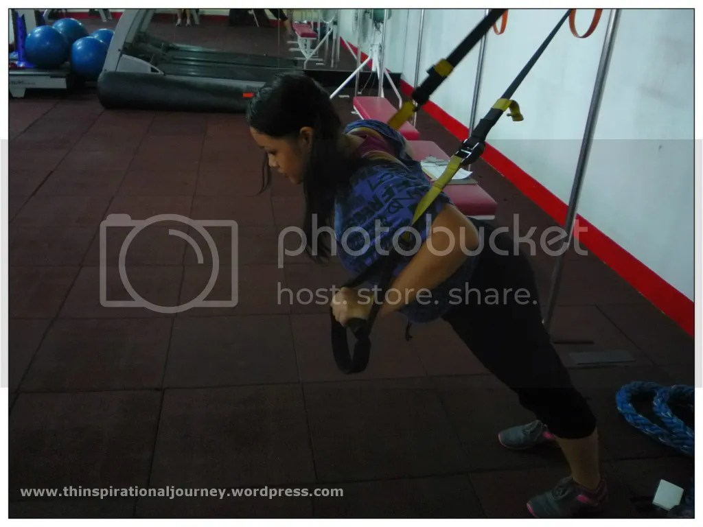 Suspension Trainer pushups