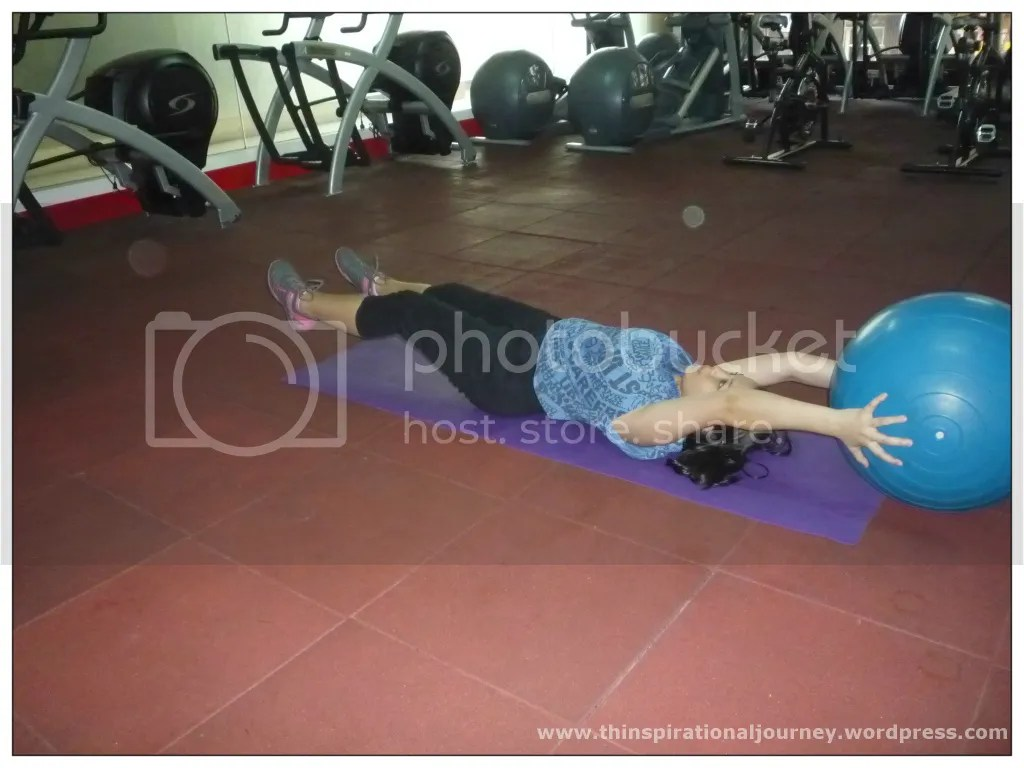 Stability Ball Jack Knife Sit ups